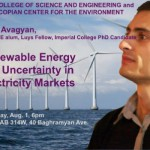 Renewable Energy and Uncertainty in Electricity Markets