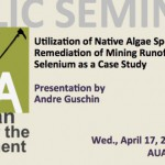 Utilization of Native Algae Species in Remediation of Mining Runoff: Selenium as a Case Study