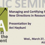 Managing and Certifying Forests: New Directions in Resource Stewardship