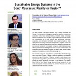 Sustainable Energy Systems in the South Caucasus: Reality or Illusion?